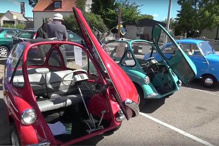 Följ med på första veteranbilsträffen i Häljarp