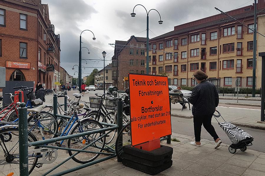 Glöm inte cykeln på Vilan