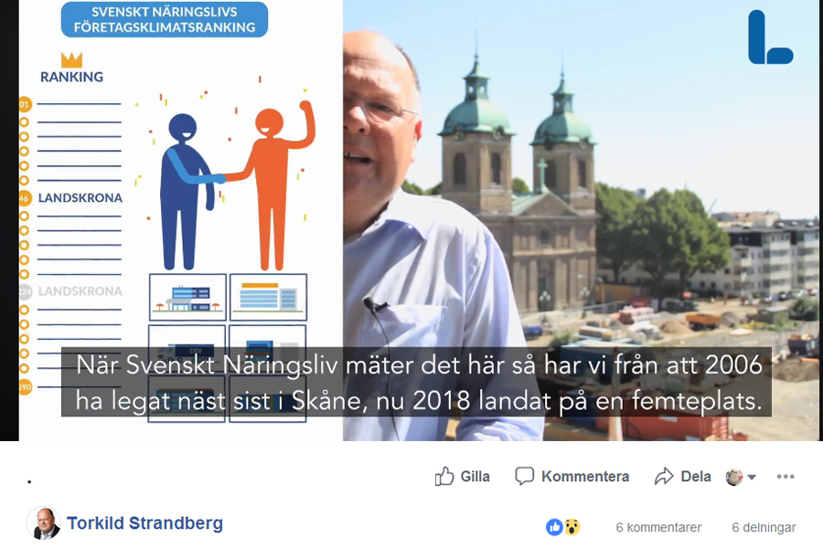 Torkild nära spoila Svenskt Näringslivs lista