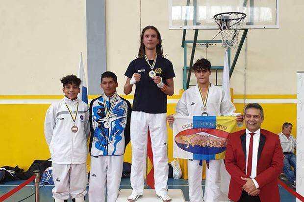 Noel överst på prispallen på Gran Canaria