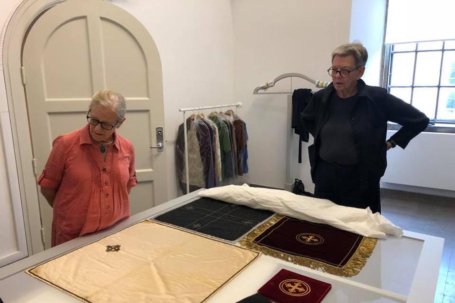 Kyrkliga textilier – ett över 2000 år gammalt arv