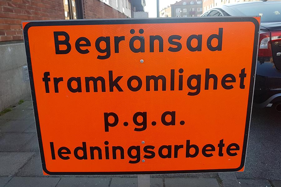 Ny vattenledning i östra Landskrona