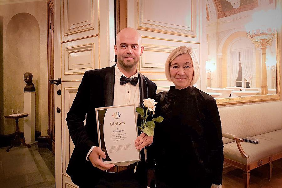 Ali Alabdallah åter nominerad för sitt integrationsarbete