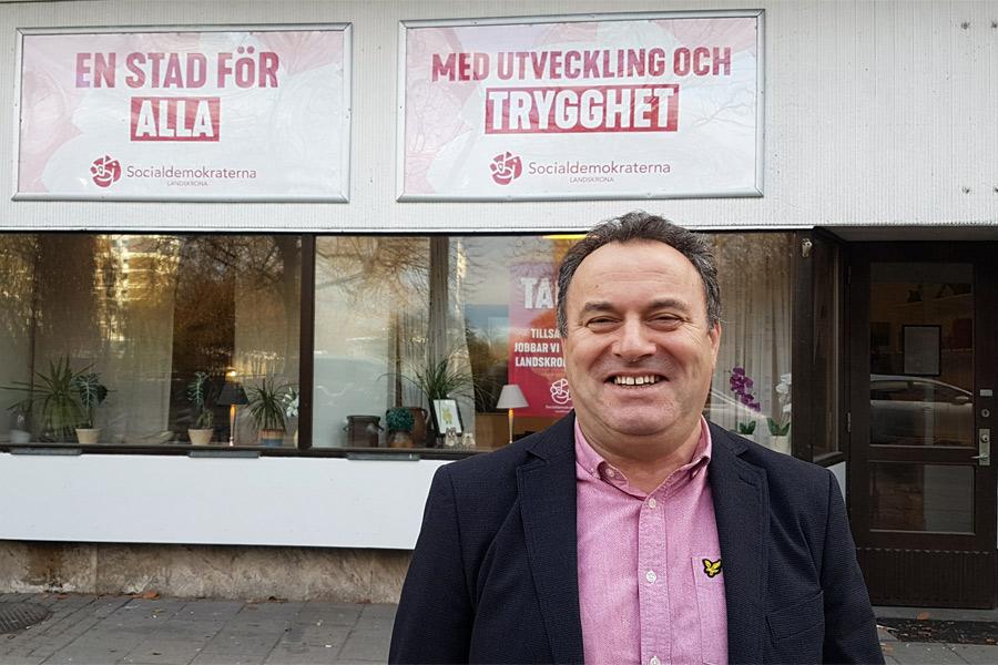 Fatmir Azemi (S) blir nytt kommunalråd