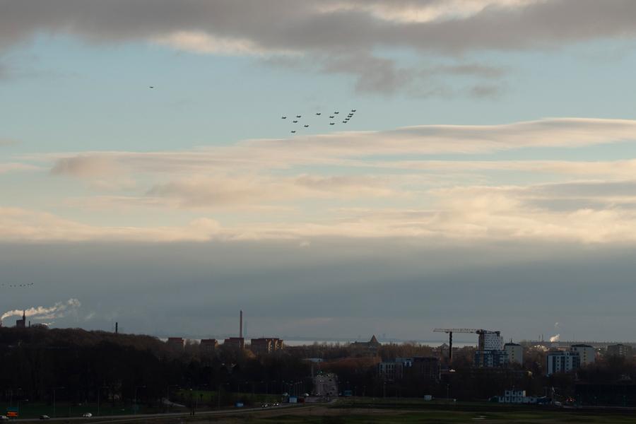 Julgranen passerade rakt över Landskrona