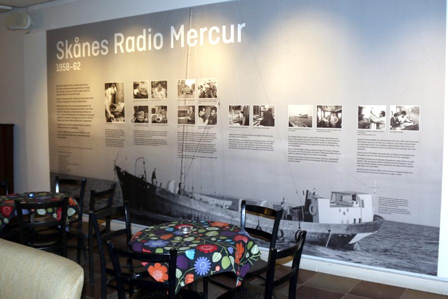 Sista chansen att se utställningen om radiopiraterna