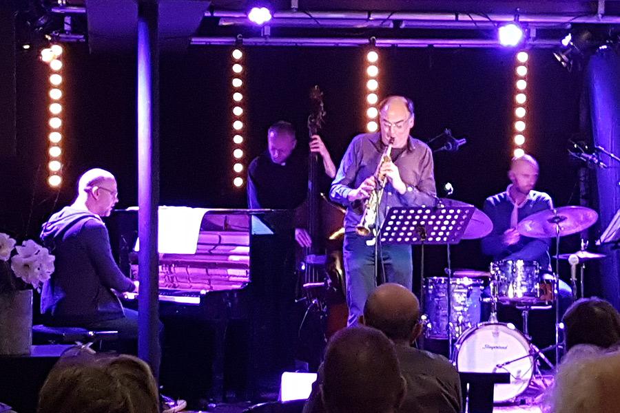 Världsartister avlutade jazzsäsongen på Teatercaféet