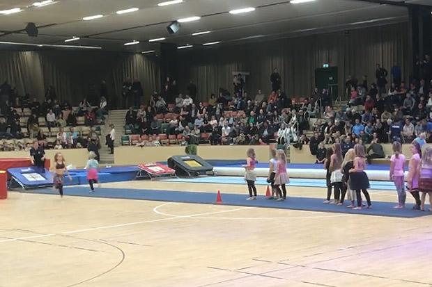 Många såg GF Idrott Gymnastiks julshow
