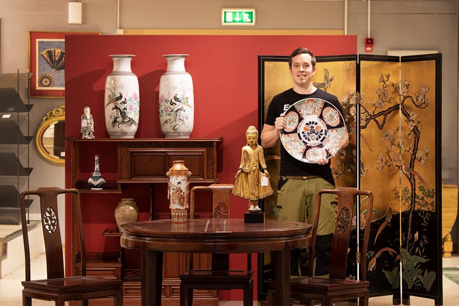 Orientaliskt avslutar auktionsåret