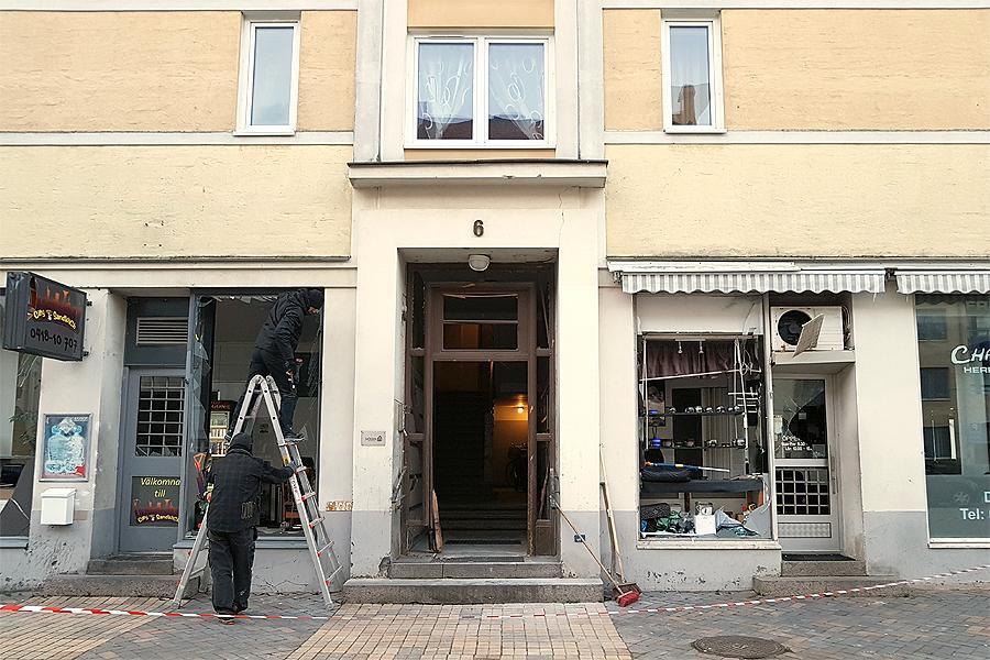 Ökad polisbevakning i Landskrona