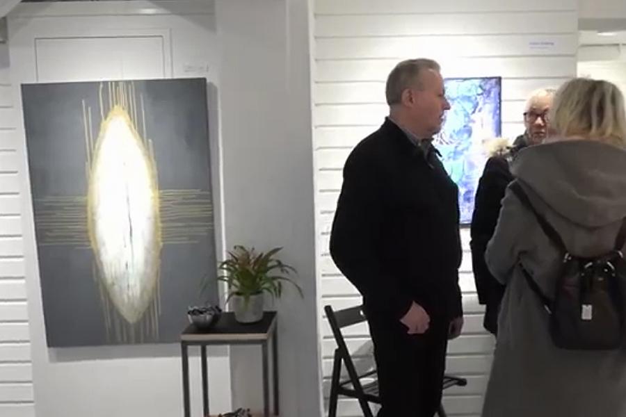 TV: Mingel från ett galleri