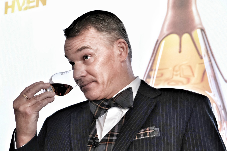 Han har näsa för whisky