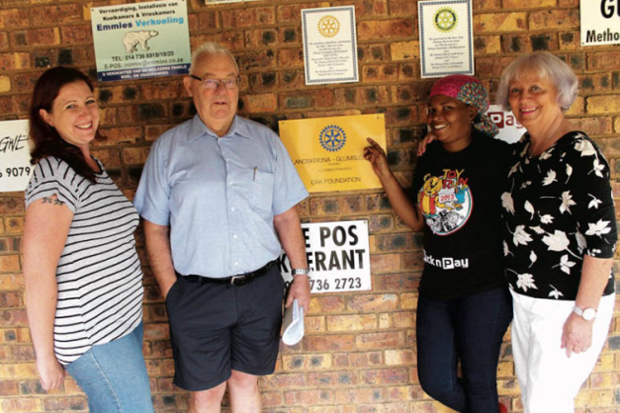 Rotaryklubb vakar över barnhem