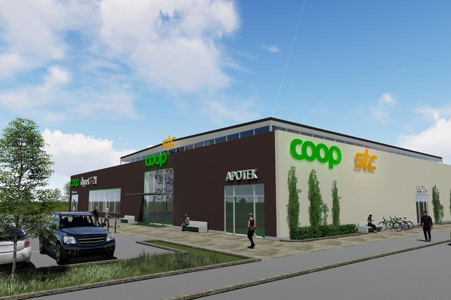 Coop etablerar sig i Norra Borstahusen