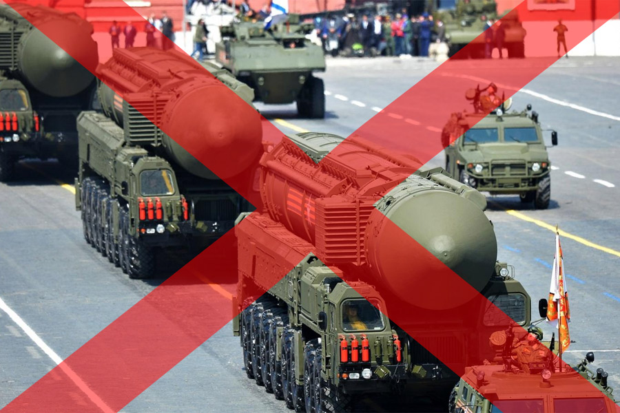 Torgmöte mot kärnvapen