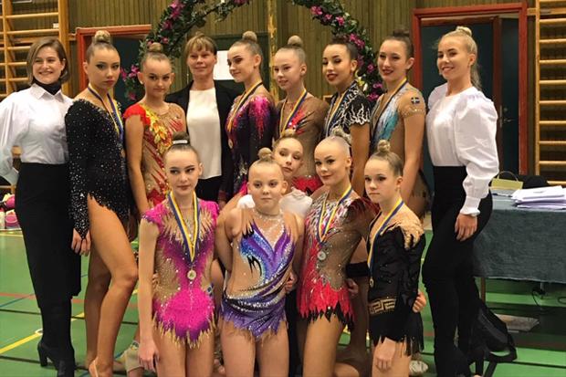 Gymnaster tävlade i Staffanstorp