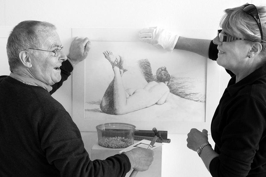 En 48-årig tradition hålls vid liv i konsthallen