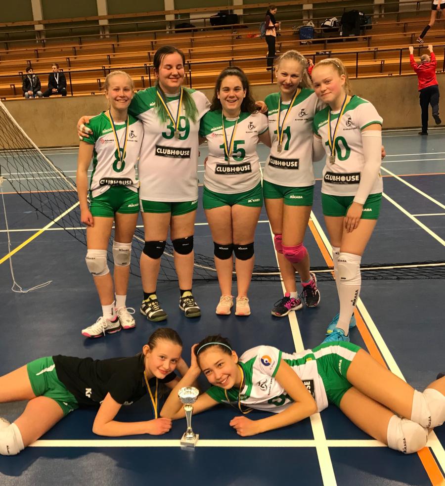 Silver på U16-mästerskapen för Kronans unga lag
