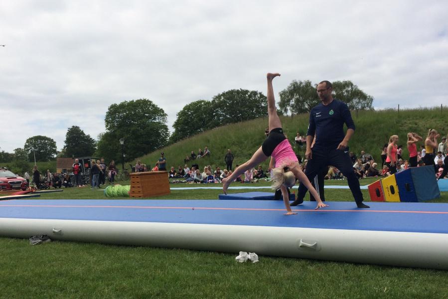 Gymnaster intog Citadellet