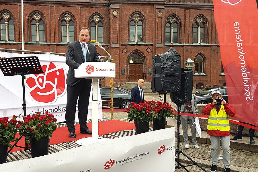 Svalt intresse för (S)tefan Löfvén – ökat intresse för EU-valet