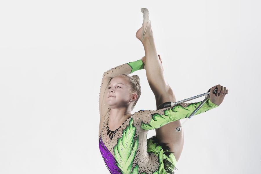 Gymnaster vässade formen inför SM-veckan