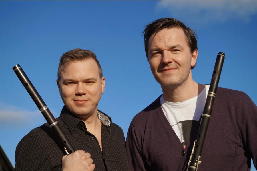 Flöjtmusik intar sommarstaden