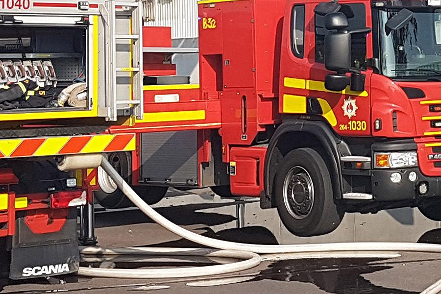 Vittnen förhindrade brand på förskola