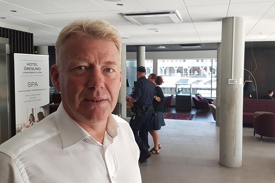 Lugn rådde på Hotel Öresund trots sprängning
