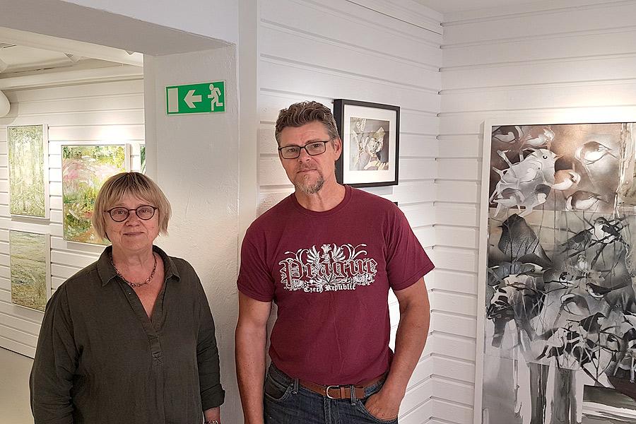 Osbykonstnärer ställer ut i Landskrona