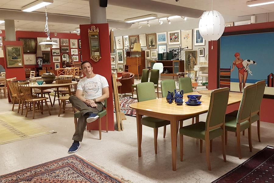 Säsongspremiär för Skånes Auktionsverk