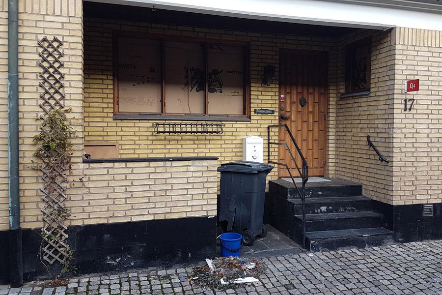 Ny bangersprängning i centrala Landskrona