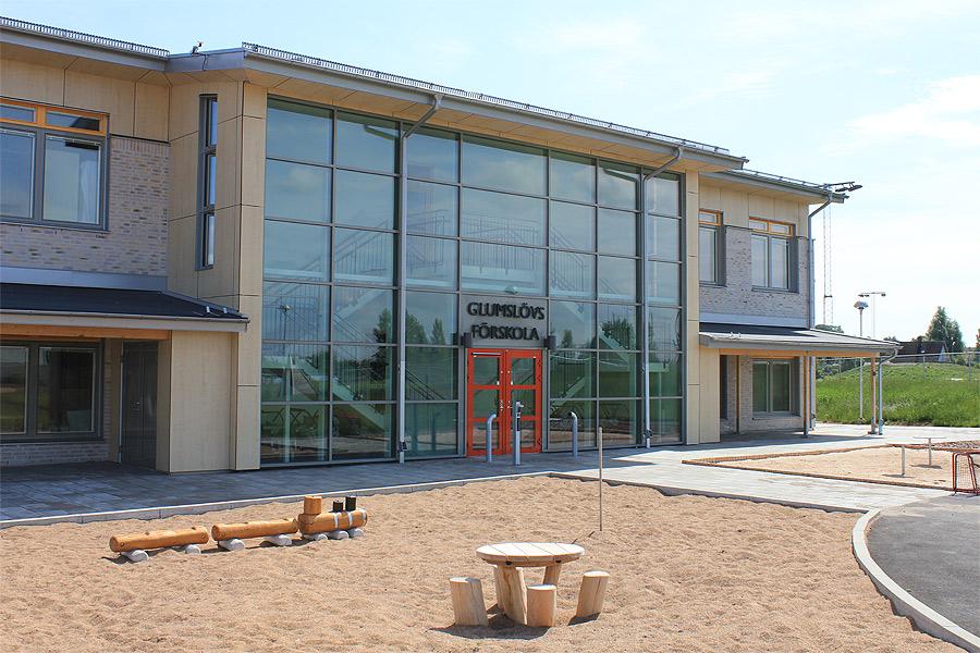 Ny förskola invigs på Glumslövsdagen