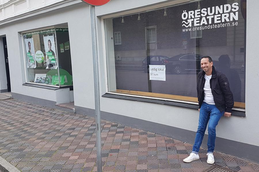 Kulturskymning på teaterscenen – Öresundsteatern har lagt ner