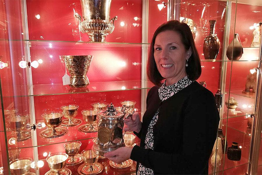 Glitter och glamour på auktion