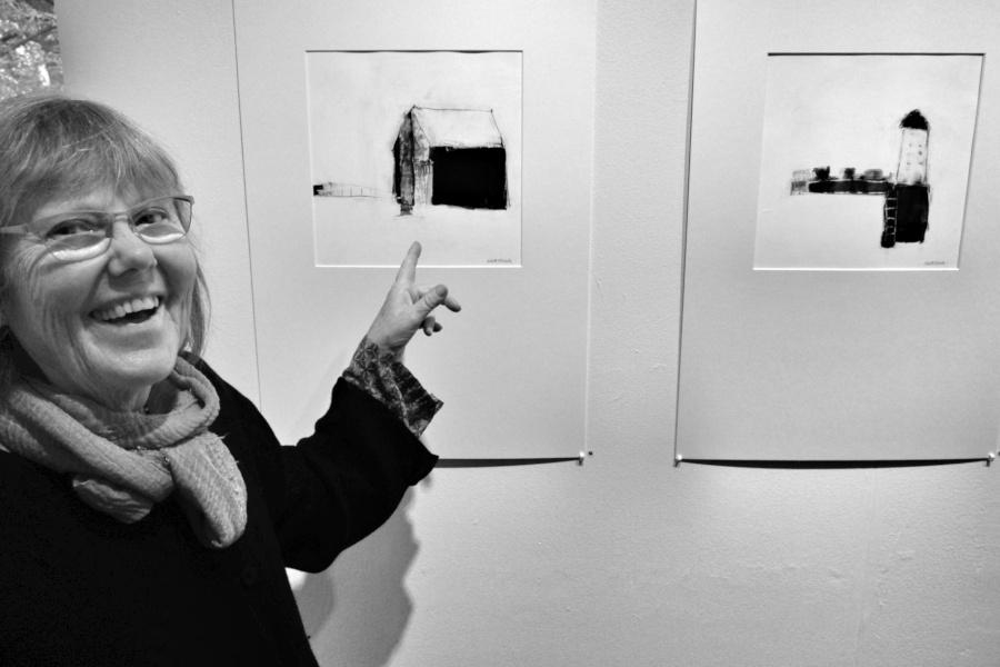 En utställning i svart och vitt