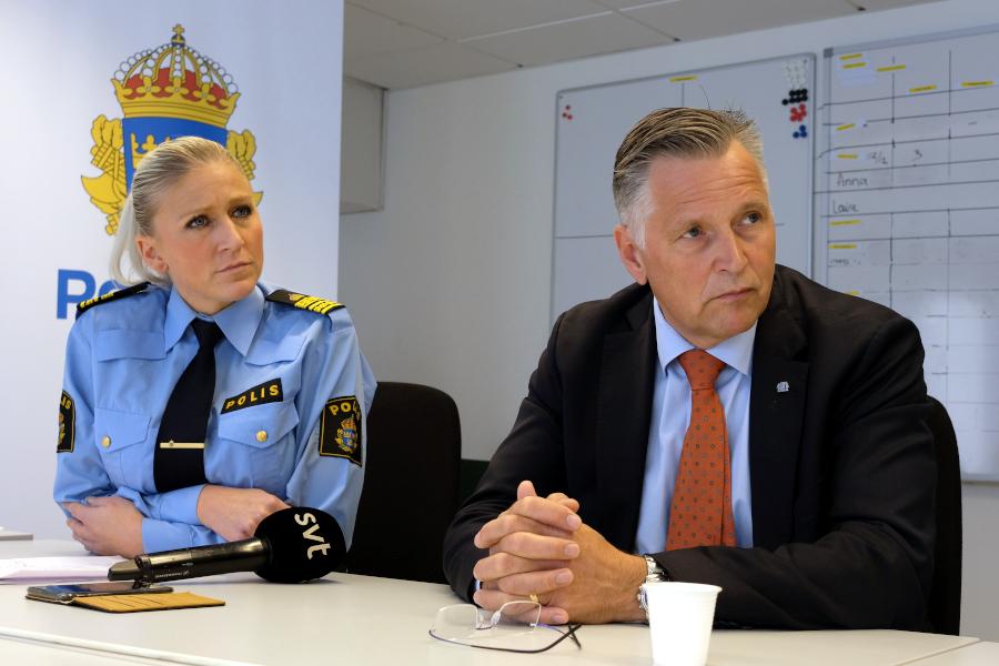 Polisen intensifierar arbete mot den grova brottsligheten