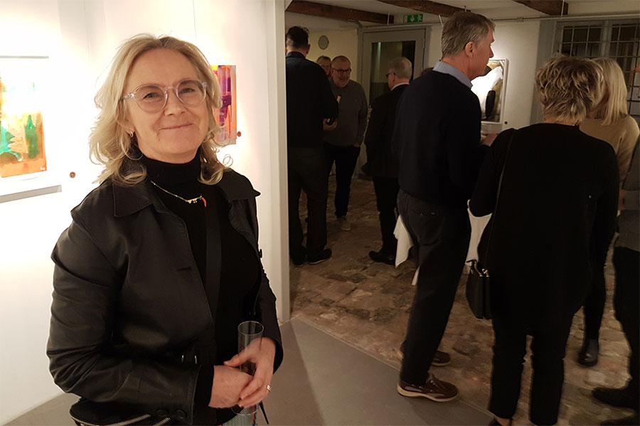 Birgitta Glenmark ställer ut på Galleri Gamla Staden