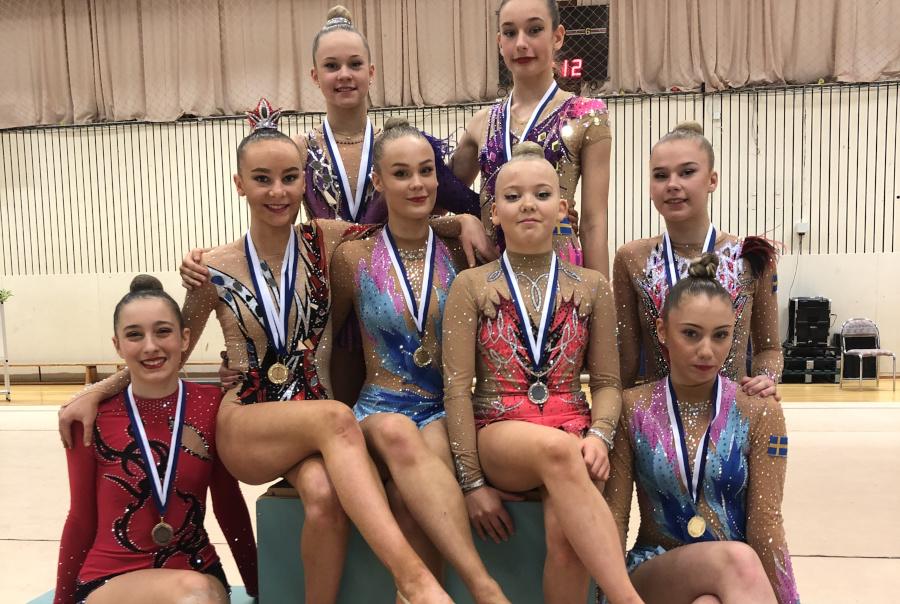 Gymnaster strålade i Göteborg