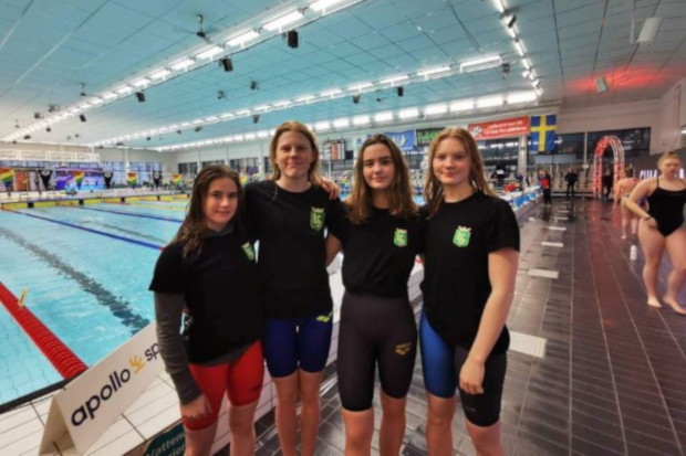 Återväxten god inom simklubben