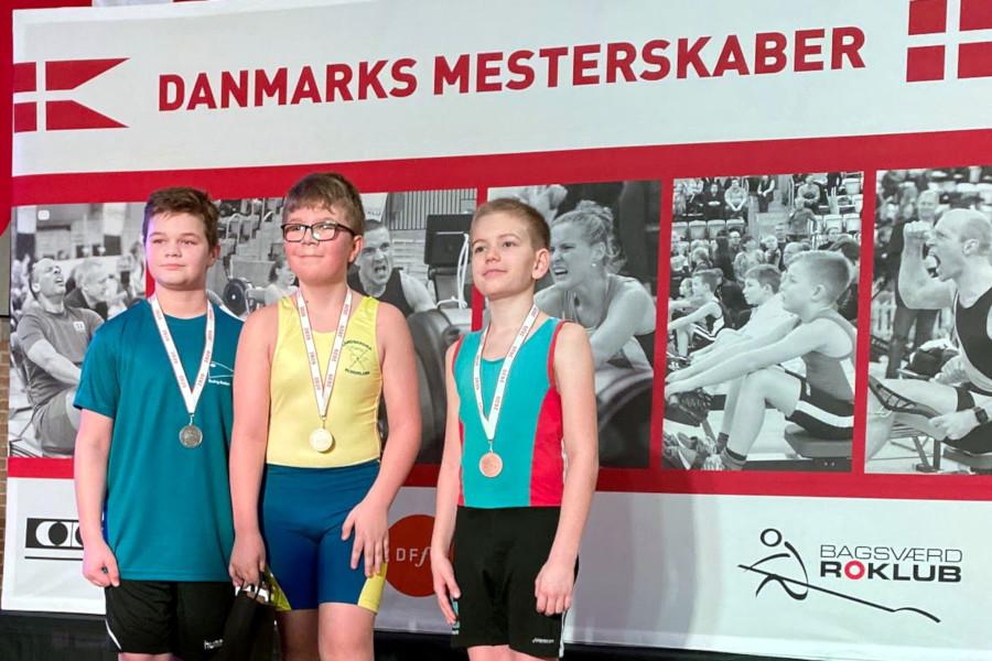 Danska framgångar för Landskrona Roddklubb