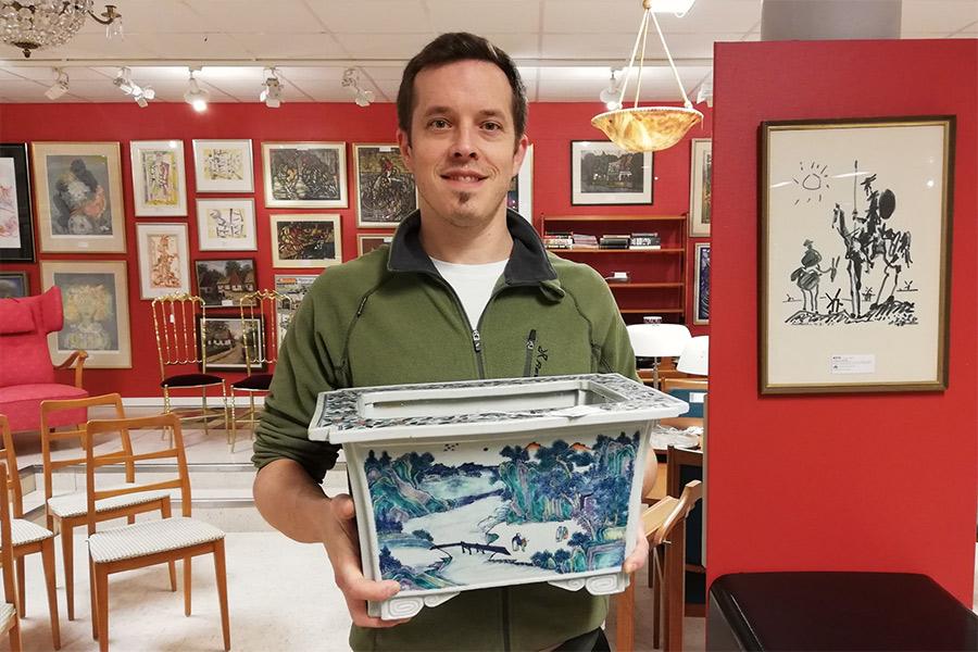 Kruka gick för 160 000 kronor på auktion