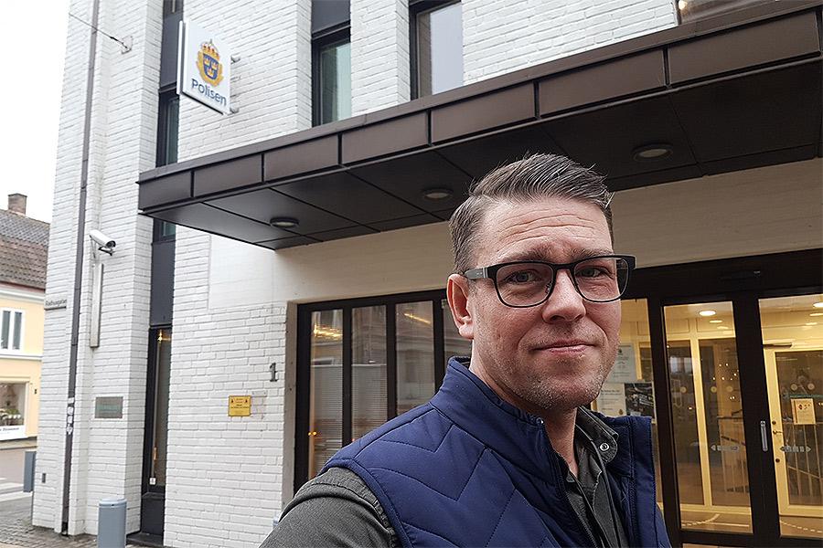 Specialpoliser mot grov kriminalitet till Landskrona