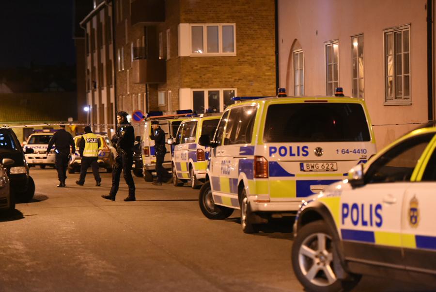 Man skjuten till döds på Bryggaregatan
