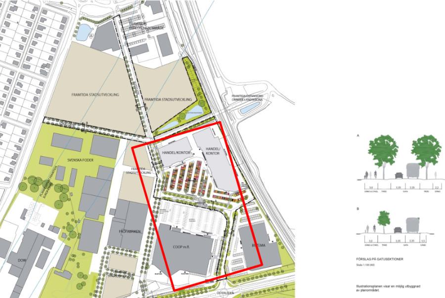 Ny gata ökar tillgängligheten till handelsområde