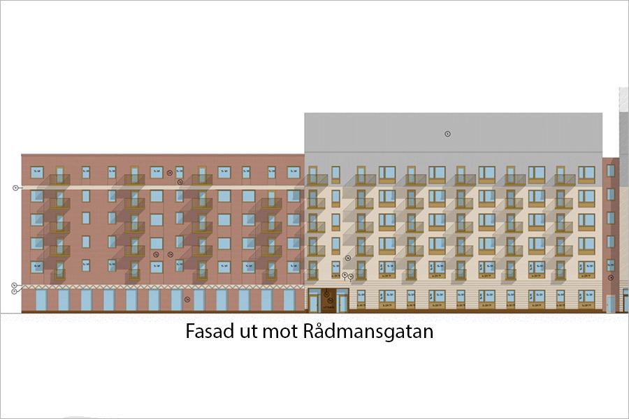 Trygghetsboende och lägenheter på Jäntan