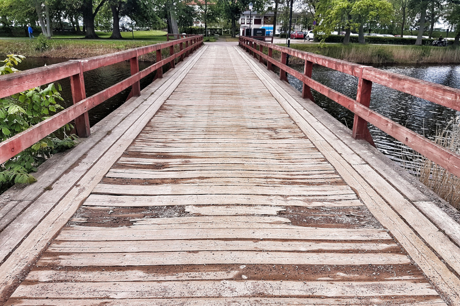 Renovering av Selma Lagerlöfs bro