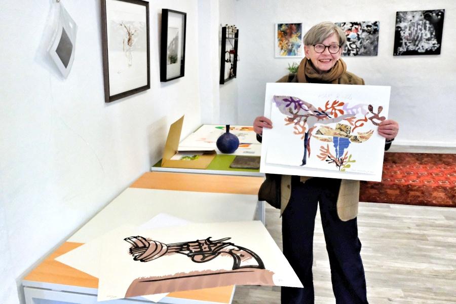 Lokala konstnärer värnar det fria ordet