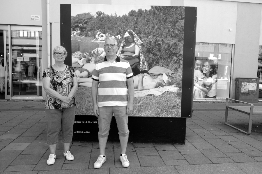 Syskonen hittade sig själva på 58 år gammal bild