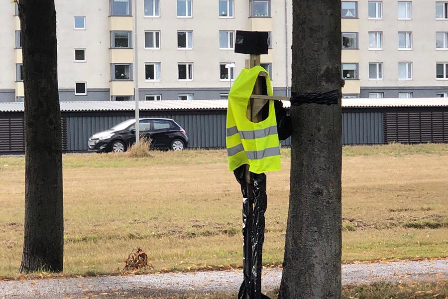 Hemlig polis på Hälsingborgsvägen