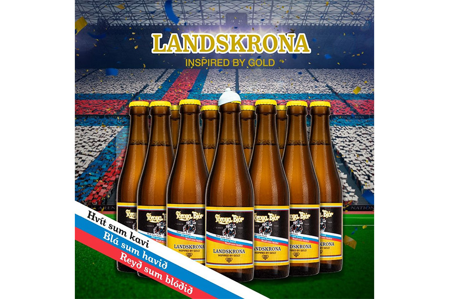 Landskrona hyllas med öl och sportbar